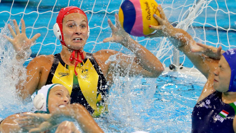 It's all over for the Australian women's water polo team. (Getty Images)