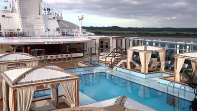 <strong>Best cruise for unwinding: Princess Cruises</strong>