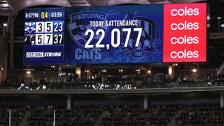 Coronavirus Crowds At Afl S Geelong Collingwood Match In Perth Spark Fears Of Covid 19 Contamination