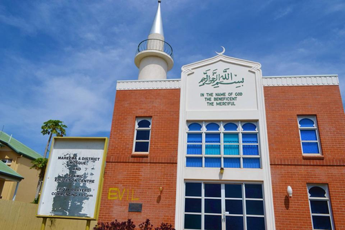 'Evil' painted on Queensland mosque