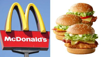 McDonald's launches new cheese and bacon chicken range