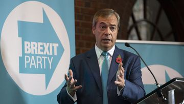 Nigel Farage Brexit Party UK Election 2