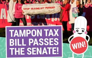 Pressure on federal government to remove GST from tampons increases as draft law passes senate