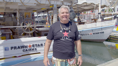Owner Danny Moore opened Prawn Star Cairns, after buying an old fishing trawler, restoring it and turning it into a restaurant.
