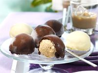 Baileys ice-cream pralines