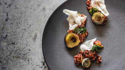 "<a href=""http://kitchen.nine.com.au/2016/09/09/14/00/charlie-carringtons-atlas-dining-wagyu-beef-pho-tartare"" target=""_top"">Charlie Carrington's Atlas Dining Wagyu beef pho tartare</a>"