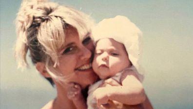 Olivia Newton-John, daughter, Chloe Lattanzi, throwback photo