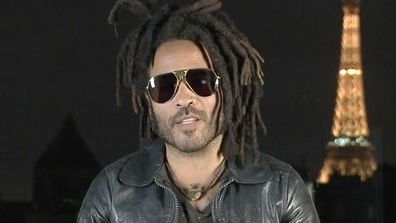 Lenny Kravitz is touring Down Under