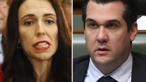 """NZ Labour leader Jacinda Ardern has outraged the Turnbull Government by revealing one of her MPs was asked by Australian Labor to pose a question around citizenship while Liberal Junior minister Michael Sukkar says the situation """"stinks to high hell""""."""