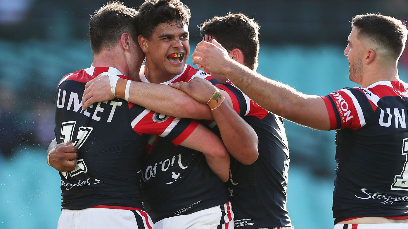 NRL: Latrell Mitchell heroics continue at SCG as Roosters dismantle Warriors