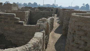 Archeologists say the city is 3000 years old.