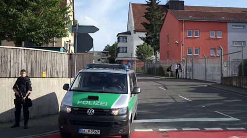 Accidentally exploding suitcase near German migrant centre rocks town