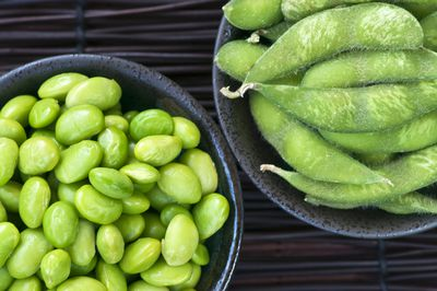 <strong>#10 Edamame beans (11g of protein per 100g)</strong>