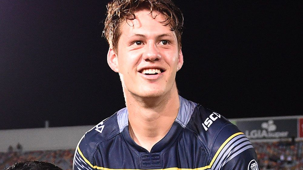 North Queensland winger Kalyn Ponga could get a chance to play in round one after an injury to Antonio Winterstein. (AAP)