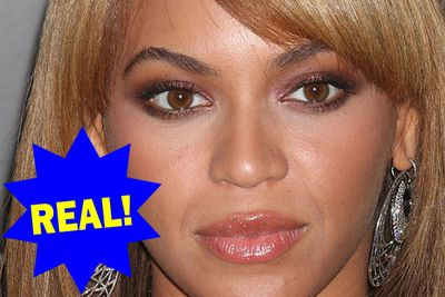 She may have had a boob job and a nose job, but no needle has ever been near Beyoncé's naturally full lips.