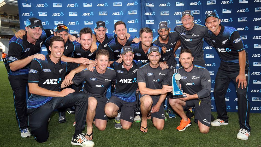New Zealand warmed up for Australia's tour with a 2-0 series win. (AAP)