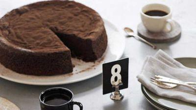 "Chocolate sour cherry cake <a href=""http://kitchen.nine.com.au/2016/05/17/10/50/chocolate-sour-cherry-cake"" target=""_top"">recipe</a>"