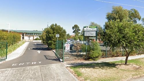 Two students at St Dominic's School in Broadmeadows have tested positive to coronavirus.