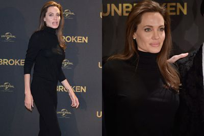 Just as we were about to crown Angelina Jolie red carpet queen for 2014, she pulls out this daggy black dress for <I>Unbroken</I>'s Berlin photocall... which is a far cry from the beaded bonanza she broke out for the Sydney premiere last week. <br/><br/>And while she may have schmoozed Down Under with hubby Brad (and posed for pics with Armed Forces escorts in London), 39-year-old Ange looked a little bored in the snaps we've dug up from her German press moment.<br/><br/>Flick through to see <I>just</I> what we mean...