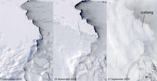 Shipping risk: 315 billion-tonne iceberg breaks off Antarctica