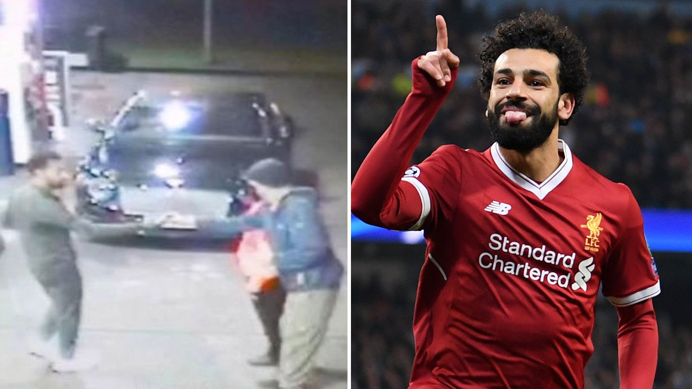 Liverpool's Mohamed Salah turns 'real-life hero' after thugs hassle homeless man
