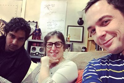 @therealjimparsons: Work! @missmayim @kunalkarmanayyar
