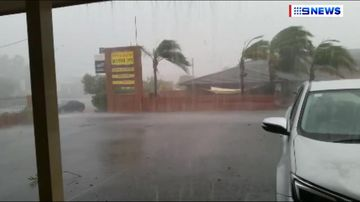 Wild storm smashes NSW town of Cobar, sending torrent of water down streets