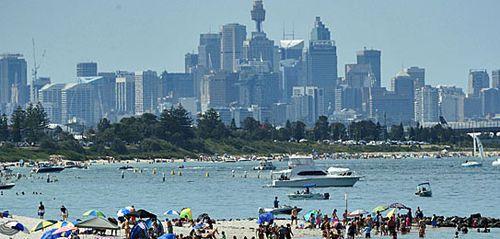 Sydney to enjoy hot spell