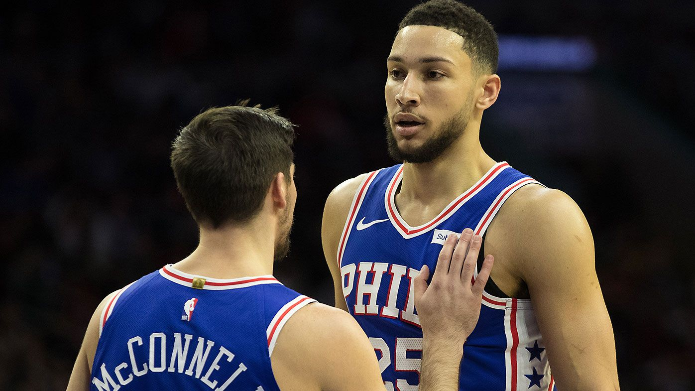 Ben Simmons' hilarious reaction to NBA All-Star Draft tug of war