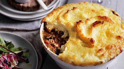 Lamb neck shepherd's pie