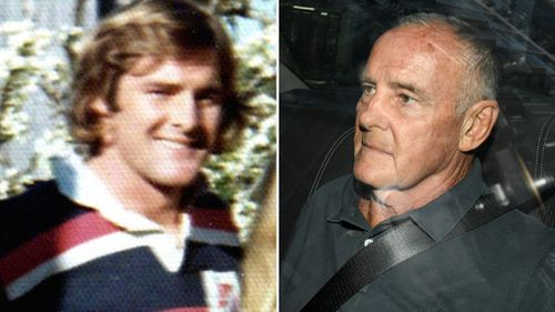 Dawson appeared at Central Local Court today, applying for bail while he awaits trial for allegedly killing his wife Lynette Dawson, who disappeared in 1982.