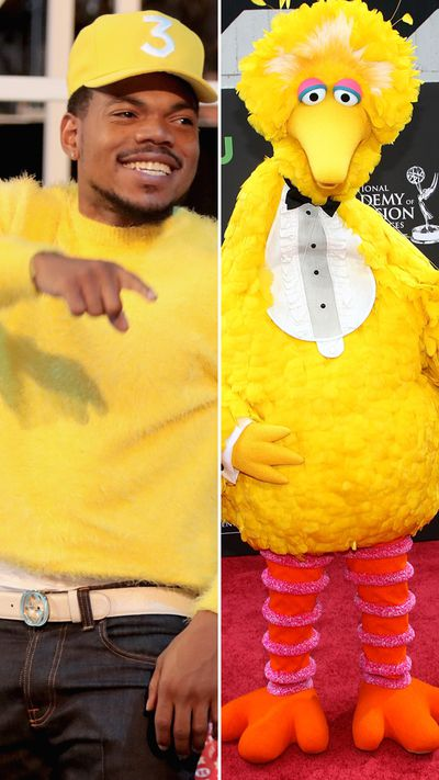 Chance The Rapper might have been hanging out in Sesame Street a bit too long...