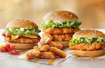 McDonald's take on KFC's Zinger with new McSpicy chicken range
