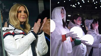 Ivanka Trump 'so incredibly inspired' by Olympics visit