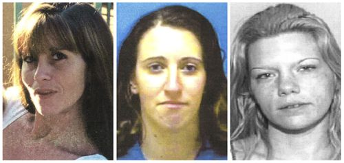 From left, Kimberly Dietz-Livesey, Sia Demas and Jessica Good were killed by Roberto Fernandes who later died in a plane crash in South America.