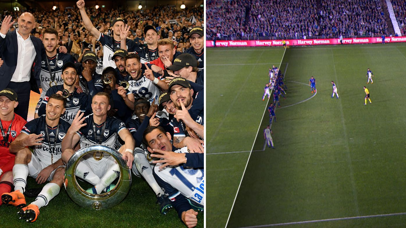A-League grand final marred by VAR controversy, FFA admit 'technical failure' allowed decisive Kosta Barbarouses goal