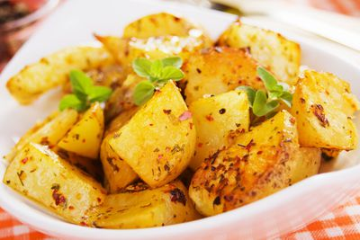 Roast potatoes: 160 calories