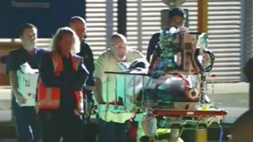 Toddler clinging to life after being struck by motorbike on NSW north coast