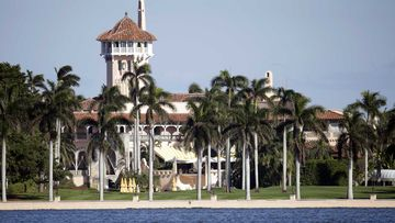 Donald Trump now official lives at his high-priced country club Mar-a-Lago, in Palm Beach, Florida.