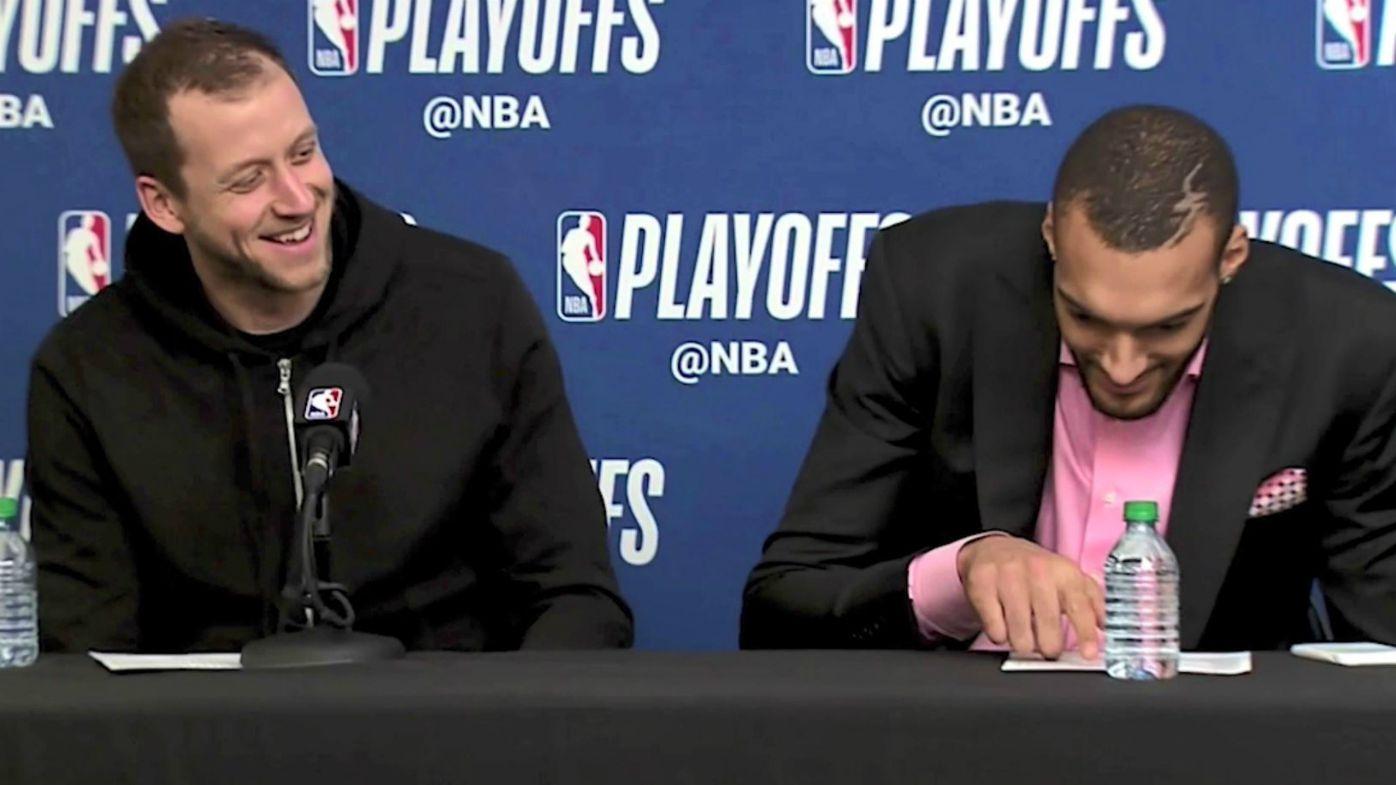 NBA Playoffs: Utah Jazz, Joe Ingles beat Oklahoma City Thunder in chippy clash