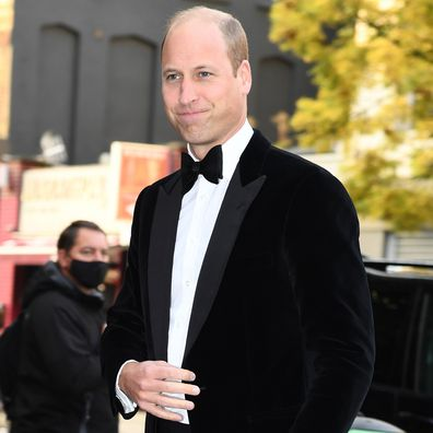 Prince William arrives for The Sun's Who Cares Wins Awards