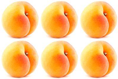 5-6 apricots are 100 calories