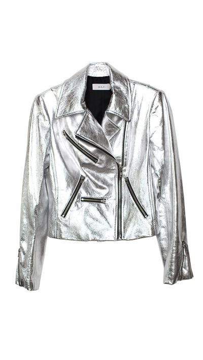 "<a href=""http://shopsuperstreet.com/collections/womens-clothing/products/a-l-c-adeline-leather-jacket?variant=1173239247"" target=""_blank"">Jacket, $518, A.L.C. at shopsuperstreet.com</a>"