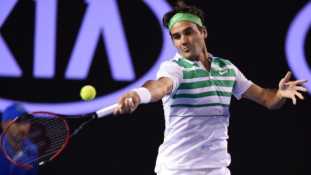 Roger Federer (AAP)