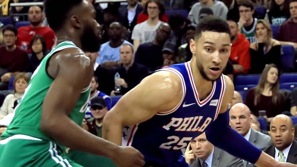 Simmons solid but Sixers blow it in London