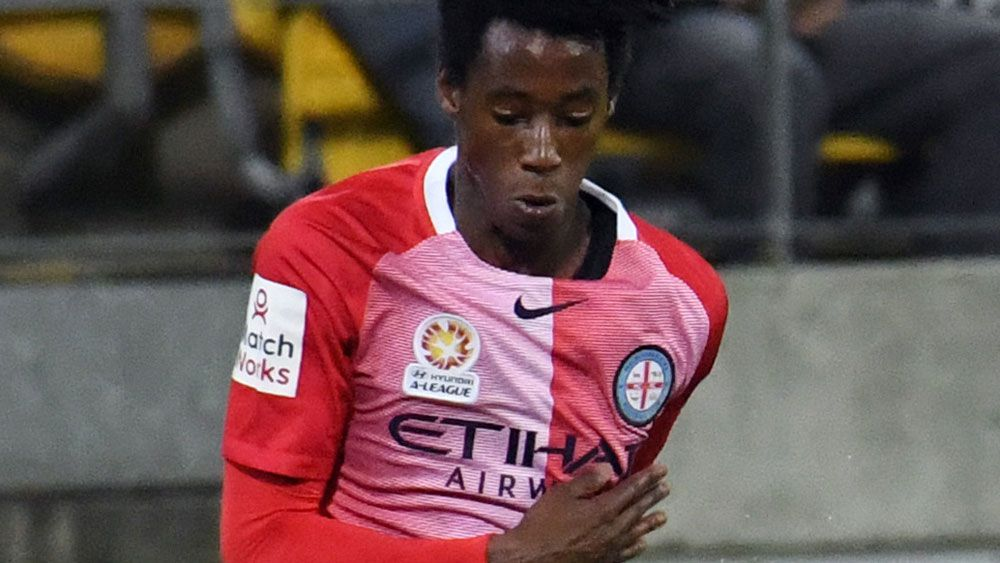 Bruce Kamau and Melbourne City will take on the Victory. (AAP)