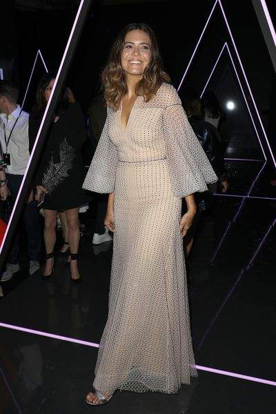 Mandy Moore at the Ralph & Russo Haute Couture A/W 18/19 show in Paris,  July 2018