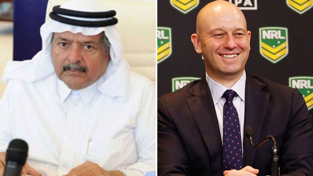 Qatari billionaire sheikh eyes huge NRL investment: report