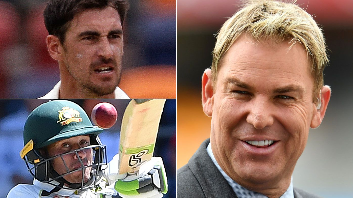 Shane Warne drops Khawaja and Starc in big clearout for first Ashes Test