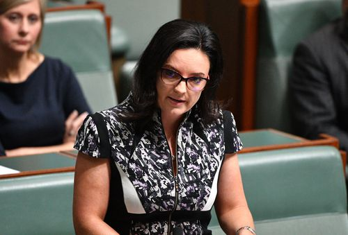 Emma Husar tweeted today that she was attempting to clear her name - but believes people are out to 'destroy' her. Picture: AP